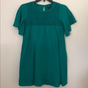 Girls Green dress